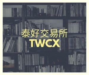 【區塊鏈】TWCX 泰好交易所。交易額全台前三名